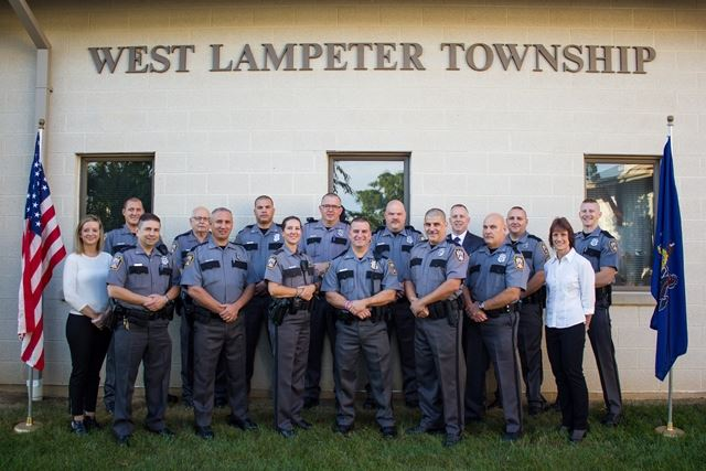 Lampeter Police Dept. Group 2b